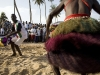 OTUAM, GHANA- OCTOBER 3: Traditional dancers perform at the Harvest Festival in Otuam, Ghana on October 3, 2009. (Jane Hahn/Getty Images for the Washington Post Magazine)