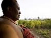 OTUAM, GHANA- OCTOBER 2: King Peggielene